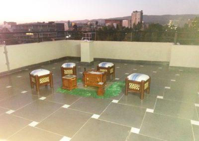 Coffee Ceremony on Terrace